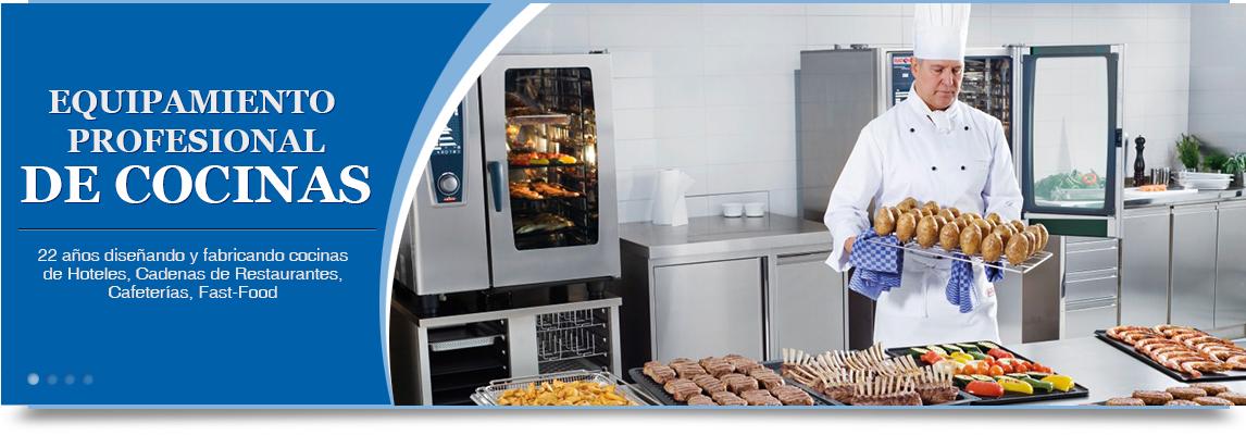 Equipos de cocina industriales para hoteles y restaurantes for Equipos para cocina