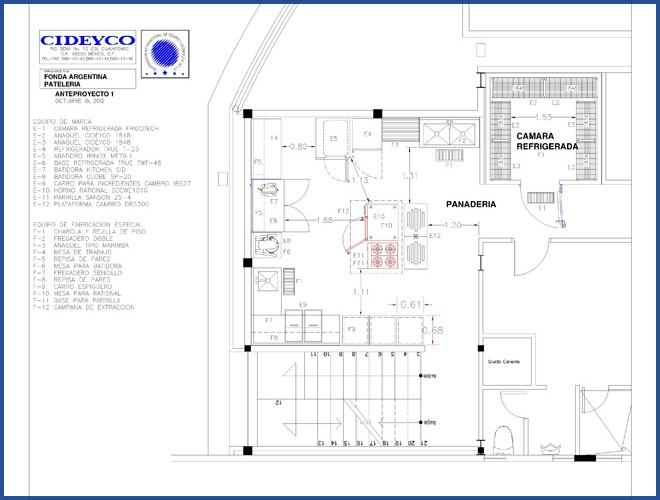 Planos para proyecto profesional de cocinas industriales for Guia mecanica de cocina pdf